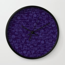 Nocturnal House Wall Clock