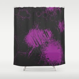Graphic V1 Shower Curtain