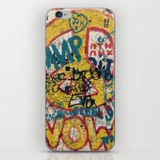 the Berlin wall iPhone & iPod Skin