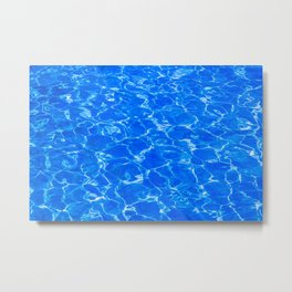 Fresh Water Metal Print