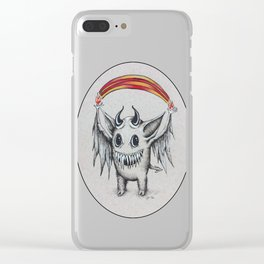 Happy Rainbow of Hellfire Clear iPhone Case