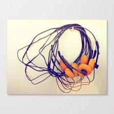 THE MUSICAL BUZZ Canvas Print