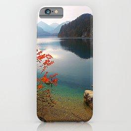 Alpsee iPhone Case