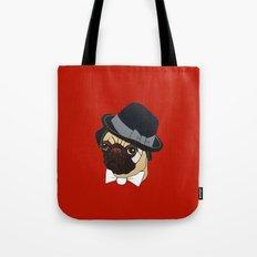 Homburg Pug Tote Bag