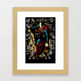 Super Steel 2 Framed Art Print