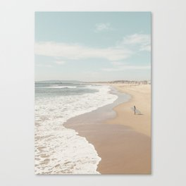 California Beach Canvas Print