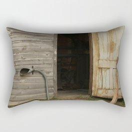 Blacksmith Shop Rectangular Pillow