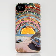 Orange sunset iPhone (4, 4s) Slim Case