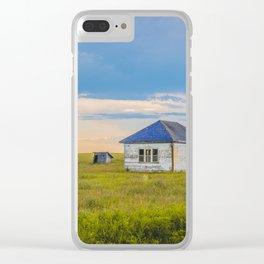 Palmgren Township School, North Dakota 6 Clear iPhone Case