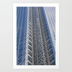 One Canada Square Abstract Art Print