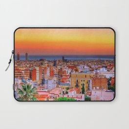 Barcelona Sunset Laptop Sleeve