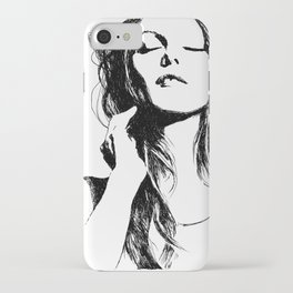 Vanessa Paradis II iPhone Case