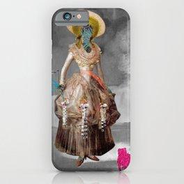 Goya -  Marquesa de Pontejos - Collage iPhone Case