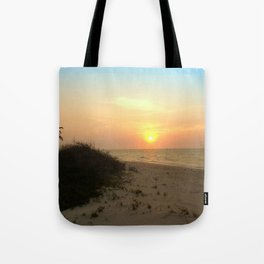 As The Sun Sits Tote Bag