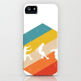 Retro Parkour product Gift Funny Vintage Parkour design iPhone Case