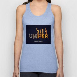 Trump The Unifier. Unisex Tank Top