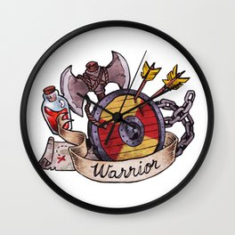 Warrior Class Wall Clock