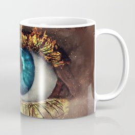 Eye in Flames Coffee Mug
