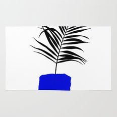 Blue Pot Rug