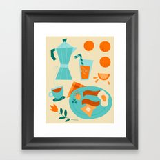 Most Important Meal Framed Art Print