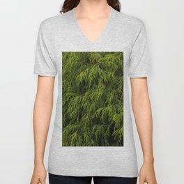 Evergreen Shrub Unisex V-Neck