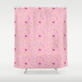 Sailor Moon Pattern Shower Curtain