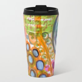 Laid Table with Water Bowl Travel Mug