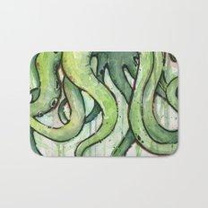 Cthulhu Green Tentacles Bath Mat