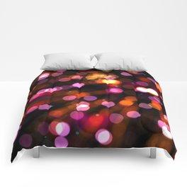 Fireworks Pink (Color) Comforters