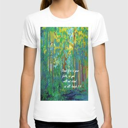 Stand Firm in Your Faith T-shirt