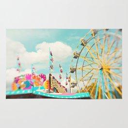 summer carnival fun Rug
