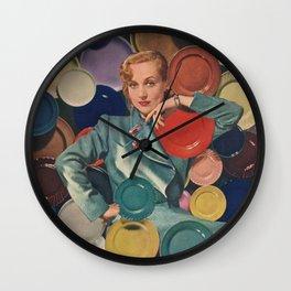 Chromo Spheres Wall Clock