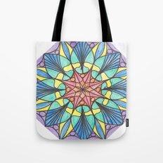 Octagonal mandala Tote Bag