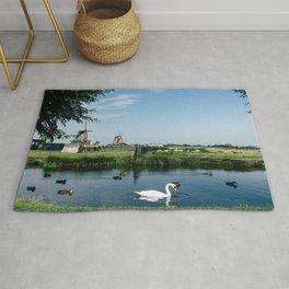 A Beautiful Dutch Scene Rug