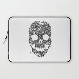 Panda is cool/skull Laptop Sleeve