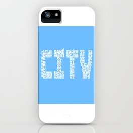 Manchester City 2019 - 2020 iPhone Case