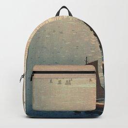 Yoshida Hiroshi - The Sparkling Sea, from Series Ocean Views at Seto (1926) Backpack