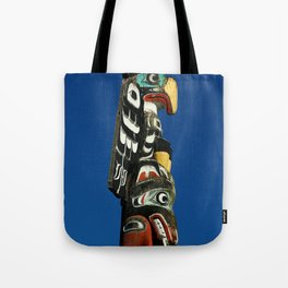 A Colorful Totem Tote Bag