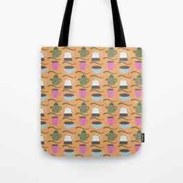Teatime Print Tote Bag