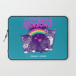 Kittens & Rainbows Laptop Sleeve
