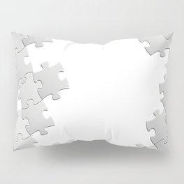 Puzzle white Pillow Sham
