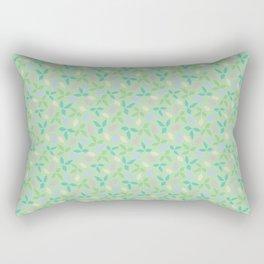 Whimsical Leaves Rectangular Pillow