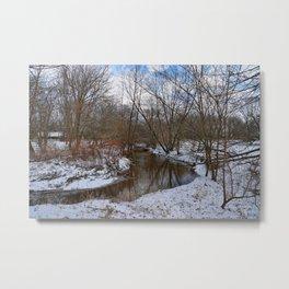 Winter's Embrace  Metal Print