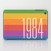 1984 iPad Cases featuring 1984 (h) by Dan Rubin