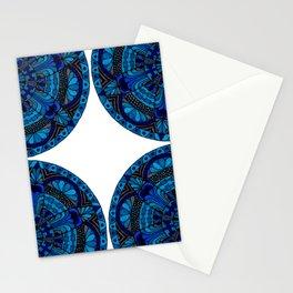 Mandala Ocean Stationery Cards