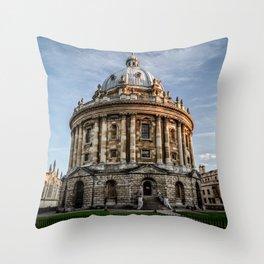 Radcliffe Camera Oxford University England Throw Pillow