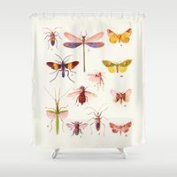 alisa burke Shower Curtains featuring Beautiful Creatures by 83 Oranges™