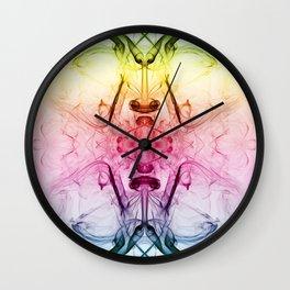 Smoke Art 9 Wall Clock