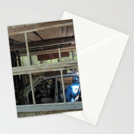Window - Abondoned Places Stationery Cards