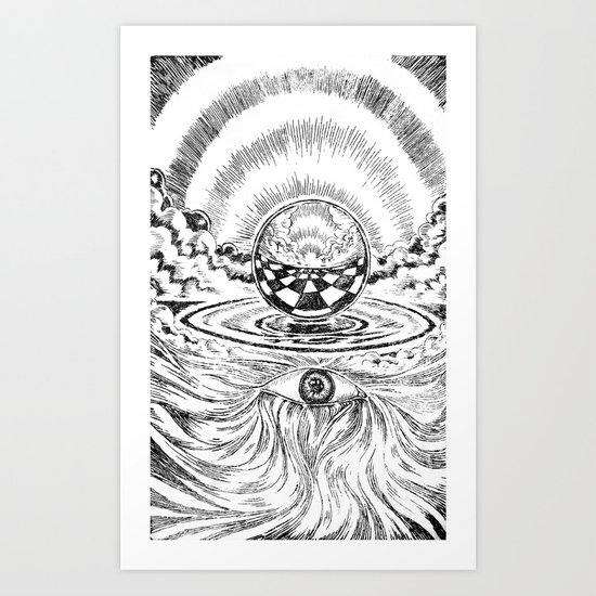 My world # 2 Art Print